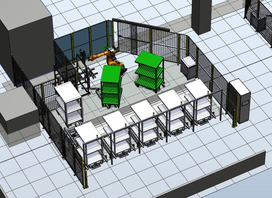 Press service stations