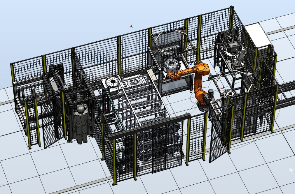 Montagestation
