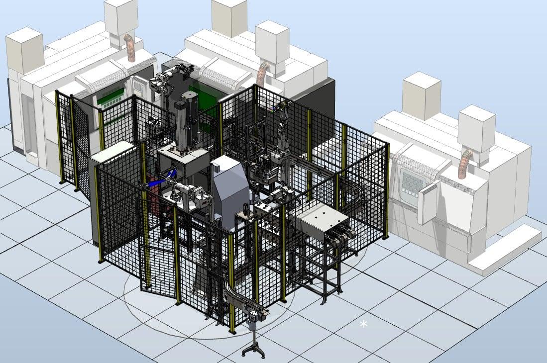 Automatische Arbeitsstation