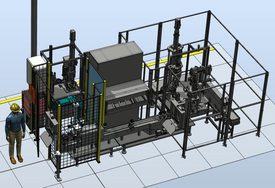 Stanowisko automatyzacji montażu